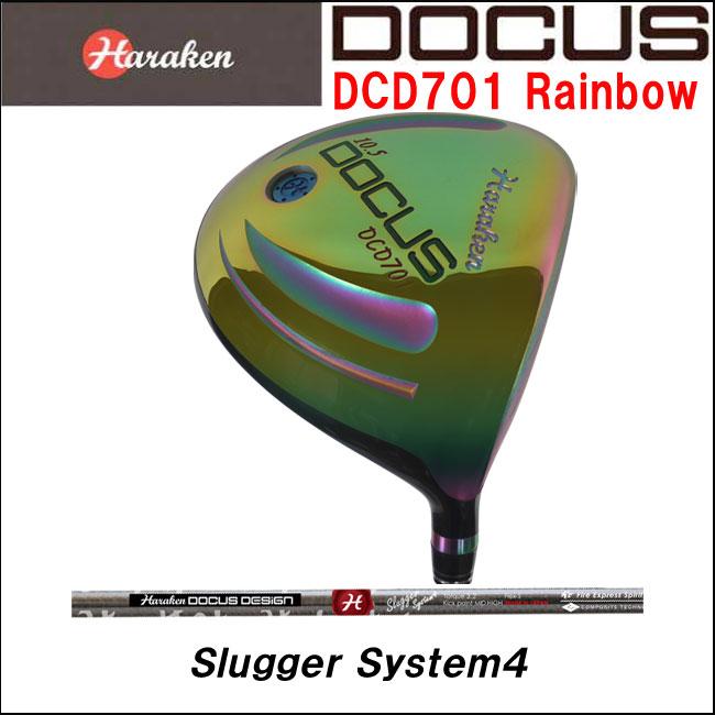 ドゥーカス DOCUS メンズゴルフクラブ DCD701 ドライバー RainbowFinish Slugger System4