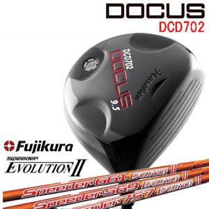 ドゥーカス DOCUS メンズゴルフクラブ DCD702 ドライバー SPEEDER EVOLUTION2
