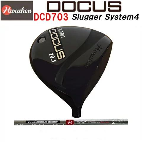 ドゥーカス DOCUS メンズゴルフクラブ DCD703 BLACK ドライバー DOCUS Slugger System4