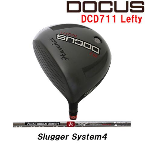 (お買い得クーポン配布中)ドゥーカス DOCUS メンズゴルフクラブ DCD711 レフティ メンズ ドライバー Slugger System4 シャフト
