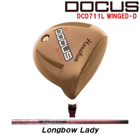ドゥーカス DOCUS レディースゴルフクラブ ドライバー DCD711L WINGED-D Longbow Lady