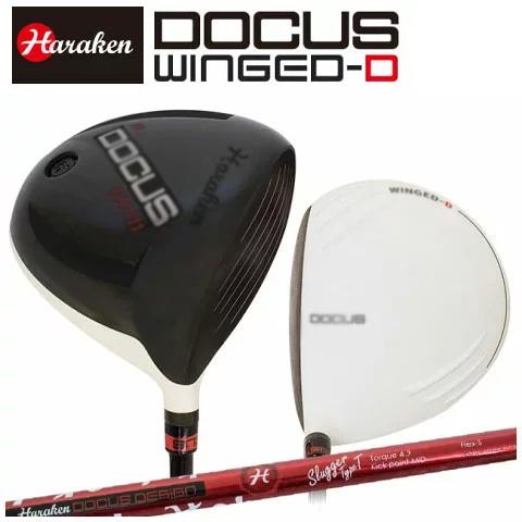 ドゥーカス DOCUS メンズゴルフクラブ DCD711 WINGED-Dメンズ ドライバー DOCUS Slugger TypeT
