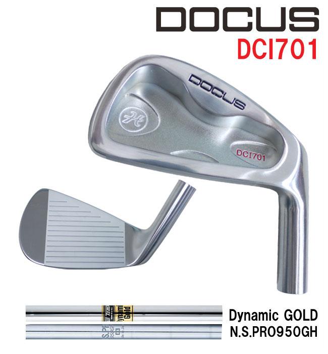 ドゥーカス DOCUS メンズゴルフクラブ アイアン DCI701 6本set #5-PW N.S.PRO950 /DG (◎)