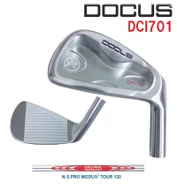 (お買い得クーポン配布中)ドゥーカス DOCUS メンズゴルフクラブ アイアン DCI701 単品 #4 N.S.PRO MODUS3