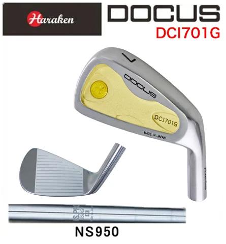 ドゥーカス DOCUS メンズゴルフクラブ アイアン DCI701G 6本セット(#5-PW) N.S.PRO 950 GH シャフト