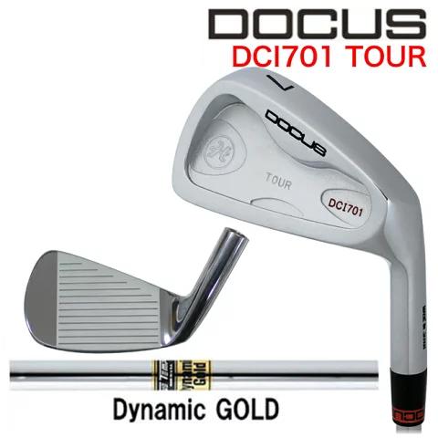 ドゥーカス DOCUS メンズゴルフクラブ アイアン DCI701 TOUR 単品 #4 Dynamic Gold S200 シャフト