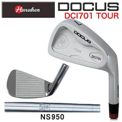 ドゥーカス DOCUS メンズゴルフクラブ アイアン DCI701 TOUR 単品 #4 N.S.PRO 950 GH シャフト