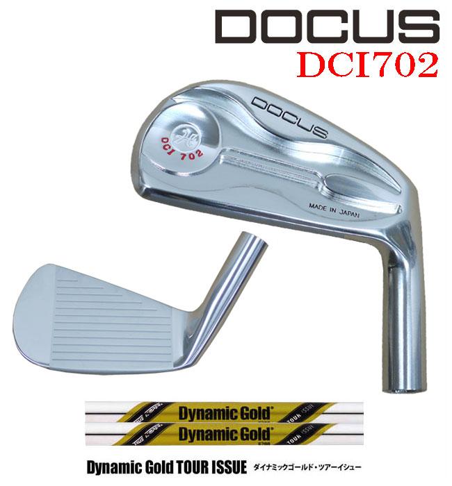 ドゥーカス DOCUS メンズゴルフクラブ アイアン DCI702 単品 #4 DG TOURISSUE