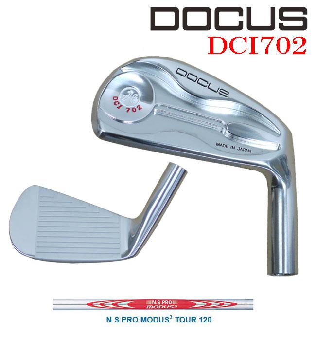 ドゥーカス DOCUS メンズゴルフクラブ アイアン DCI702 単品 #4 N.S.PRO MODUS3 【thxgd_18】