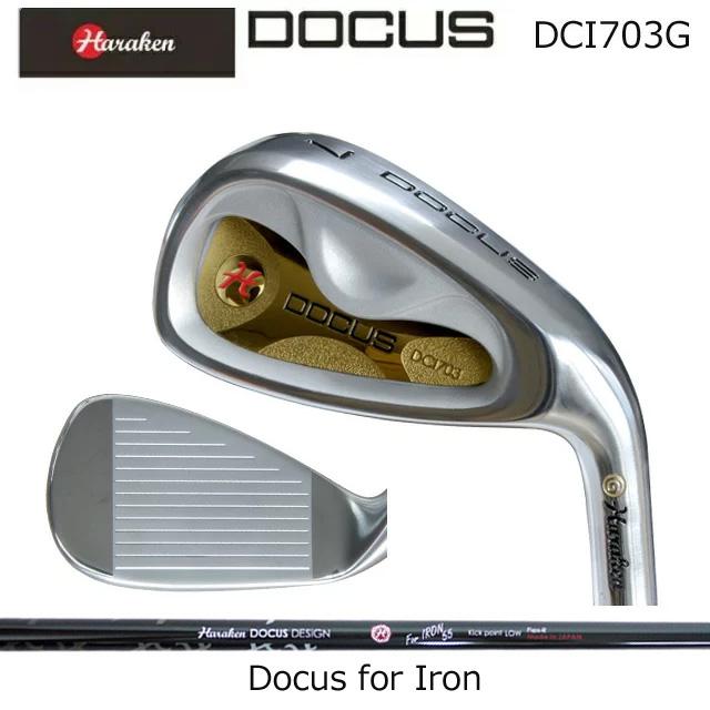 ドゥーカス DOCUS メンズゴルフクラブ アイアン DCI703G ゴールド 単品 #4,AW Docus for Iron/SRシャフト コアーズ市場店