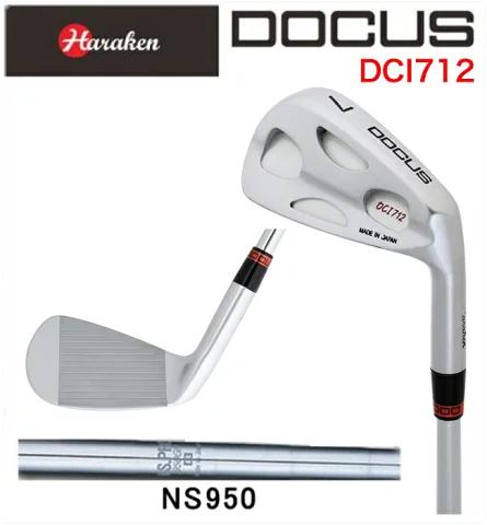 ドゥーカス DOCUS メンズゴルフクラブ アイアン DCI712 6本セット(#5-PW) N.S.PRO 950 GH シャフト