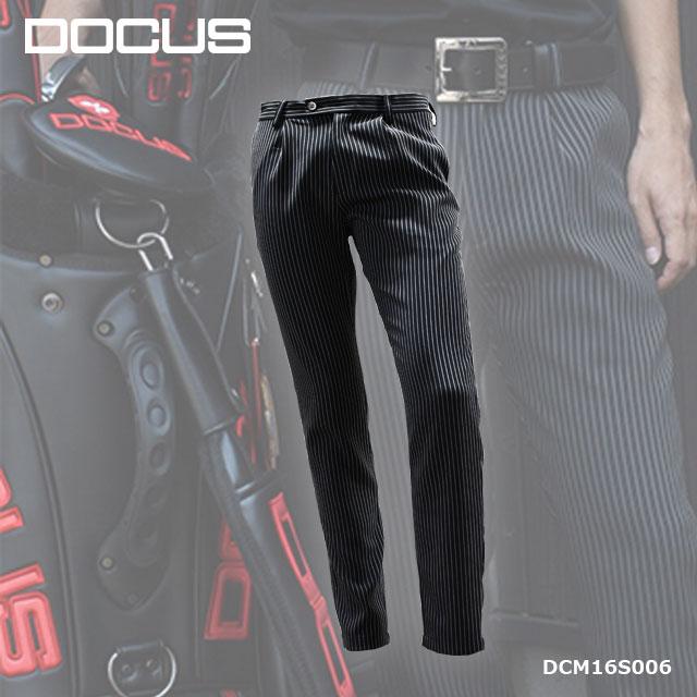 ドゥーカス DOCUS メンズゴルフウェア スラックス パンツ DCM16S006 あす楽