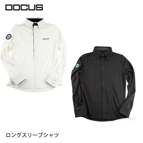 (クリアランス)ドゥーカス ロングスリーブ シャツ メンズ 大人 クール かっこいい おしゃれ 秋冬 ゴルフ ウェア DOCUS DCM18A004 コアーズ市場店 あす楽