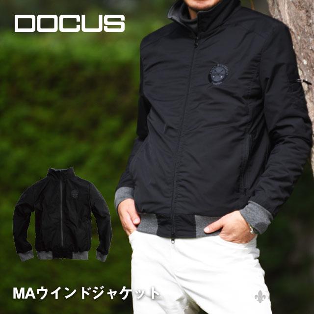 ドゥーカス DOCUS MAウィンド ジャケット メンズ レディース ゴルフ ウェア DCM18A006 あす楽 【thxgd_18】