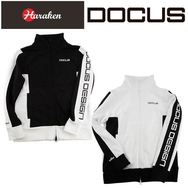 ドゥーカス DOCUS トラックジャケット メンズ レディース ゴルフ ウェア DCM18A007 あす楽 【thxgd_18】