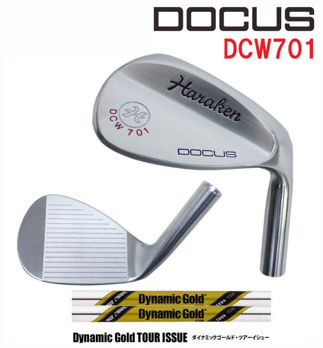 (受注生産)ドゥーカス DOCUS メンズゴルフクラブ ウェッジ DCW701 DG TOURISSUE