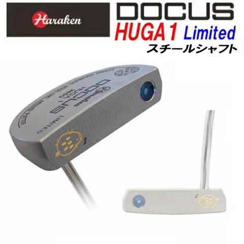ドゥーカス DOCUS メンズゴルフクラブ マレットパター HUGA 1 Limited うり坊モデル ヒューガ スチールシャフト