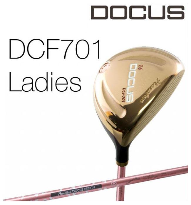 ドゥーカス DOCUS レディースゴルフクラブ フェアウェイウッド DCF701 ローズゴールド Longbow Lady シャフト 【thxgd_18】