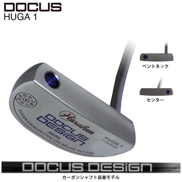 ドゥーカス DOCUS メンズゴルフクラブ パター HUGA 1 ヒュウガ1 カーボンシャフト