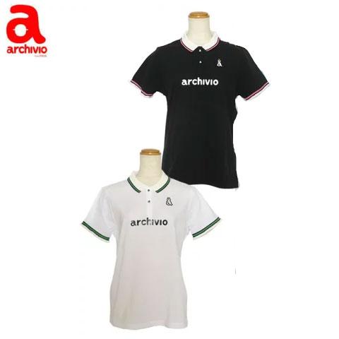 アルチビオ archivio レディースゴルフウェア 半袖ポロシャツ A659339 あす楽
