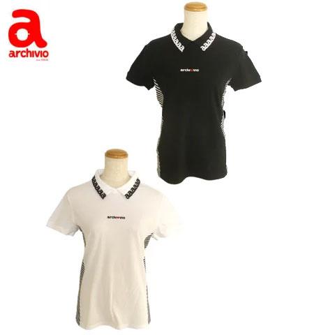 アルチビオ archivio レディースゴルフウェア 半袖ポロシャツ A759319 あす楽