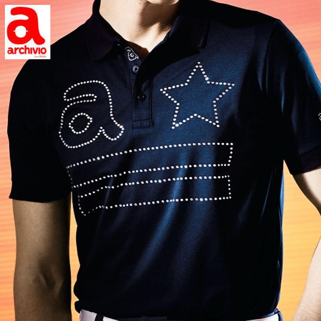 アルチビオ archivio メンズ ポロシャツ 半袖ポロシャツ A869308 2019 あす楽