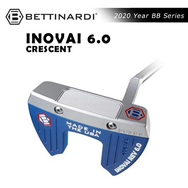 ベティナルディ BETTINARDI メンズ ゴルフ パター INOVAI SERIES putter INOVAI6.0 CRESCENT イノベイ シリーズ イノベイ6.0 クレッセント お取り寄せ コアーズ市場店