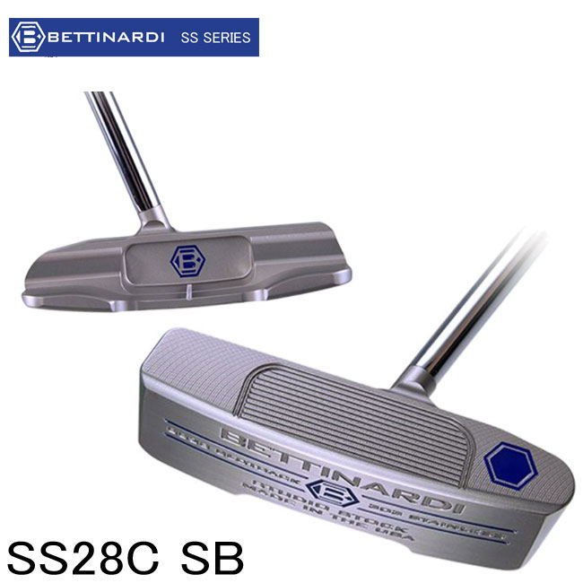 ベティナルディ BETTINARDI メンズ ゴルフ パター SS SERIES SS28C SB putter STUDIO STOCK