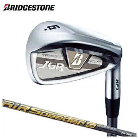 ブリヂストンゴルフ BRIDGESTONE GOLF ゴルフクラブ TOUR B JGR HF1 フォージド アイアン #5・#6・AW・SW 単品 AiR Speeder G for Iron カーボンシャフト