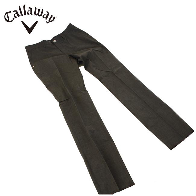 キャロウェイゴルフ Callaway GOLF メンズ ゴルフ ウェア ストレッチ ストレートパンツ 2419120504 あす楽