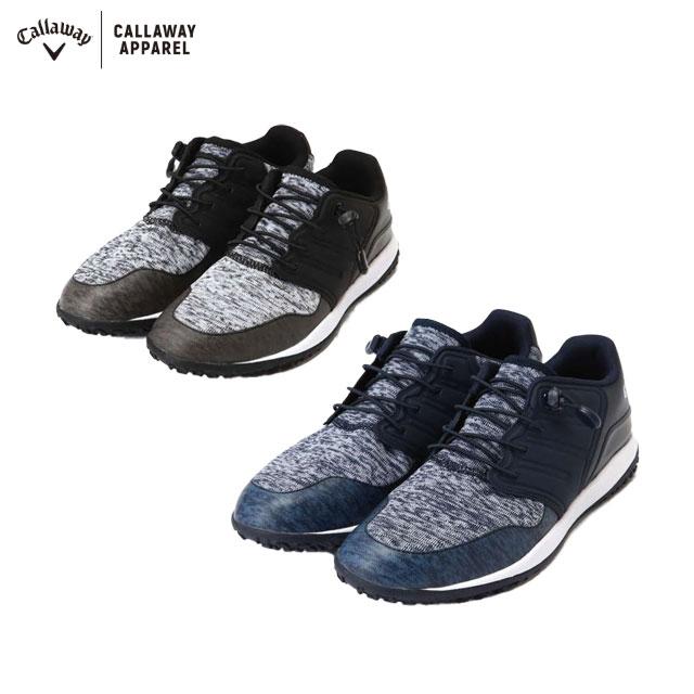 キャロウェイ ゴルフ Callaway GOLF ヘクサニット ゴルフ シューズ メンズ スパイクレス 2019年 モデル 247-0983501 あす楽 ユナイテッドコアーズ