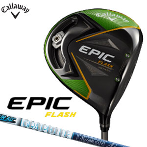 レフティ キャロウェイゴルフ Callaway GOLF メンズ ゴルフクラブ EPIC FLASH STAR エピックフラッシュスター ドライバー TourAD VR-5 左用