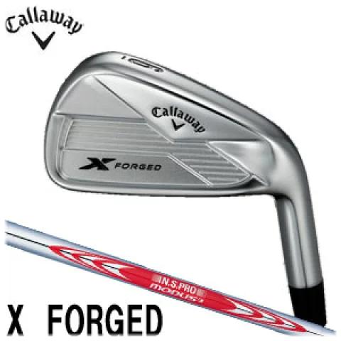 キャロウェイゴルフ Callaway GOLF メンズ ゴルフ クラブ X FORGED エックフォージド アイアン 単品(#3,#4) N.S.PRO MODUS3 Tour120 スチールシャフト