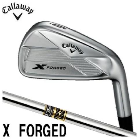 キャロウェイゴルフ Callaway GOLF メンズ ゴルフ クラブ X FORGED エックフォージド アイアン 6本セット(#5-9,PW) Dinamic Gold S200 スチールシャフト