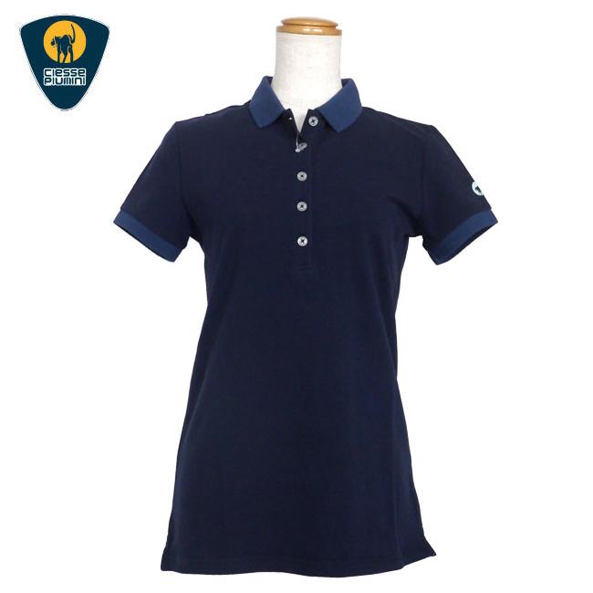 チェッセピューミニ Ciesse Piumini レディース ゴルフ ウェア ポロシャツ SHIRT WOMEN COW189 CPQSK GIAVA7B あす楽