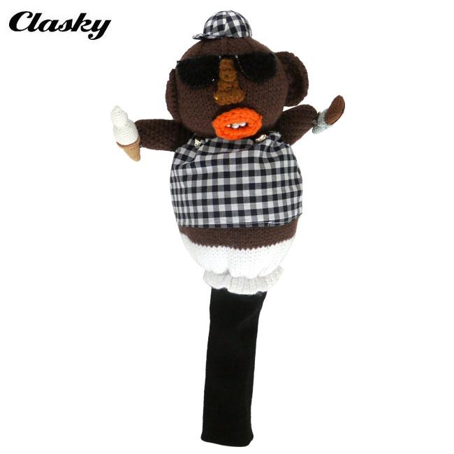 (クリアランス) クラスキー clasky メンズ レディース ゴルフ ドライバー用 ヘッドカバー SWEET KIDS CL180601 2018 あす楽