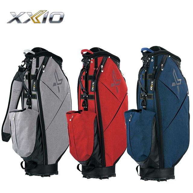 ダンロップ DUNLOP ゼクシオ XXIO メンズ ゴルフ キャディバッグ 10インチ 軽量 カジュアル GGC-X116