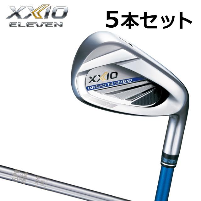 ダンロップ ゼクシオ 11 (イレブン) アイアン 5本セット(#6-#9,PW) メンズ ゴルフ クラブ DUNLOP XXIO ELEVEN N.S.PRO 860GH DST スチールシャフト