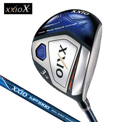 ダンロップ DUNLOP メンズ ゴルフ クラブ XXIO X フェアウェイウッド ネイビー ゼクシオテン MP1000カーボンシャフト 2018