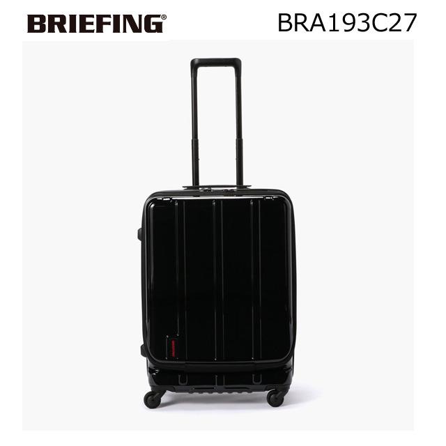 【要エントリー 超Pバック祭本日最終日】ブリーフィング BRIEFING JETTRAVEL バッグ キャリーケース CARRY CASE トラベルバック TRAVEL BAG H-60F SD 約60L TSA付き ブラック BRA193C27