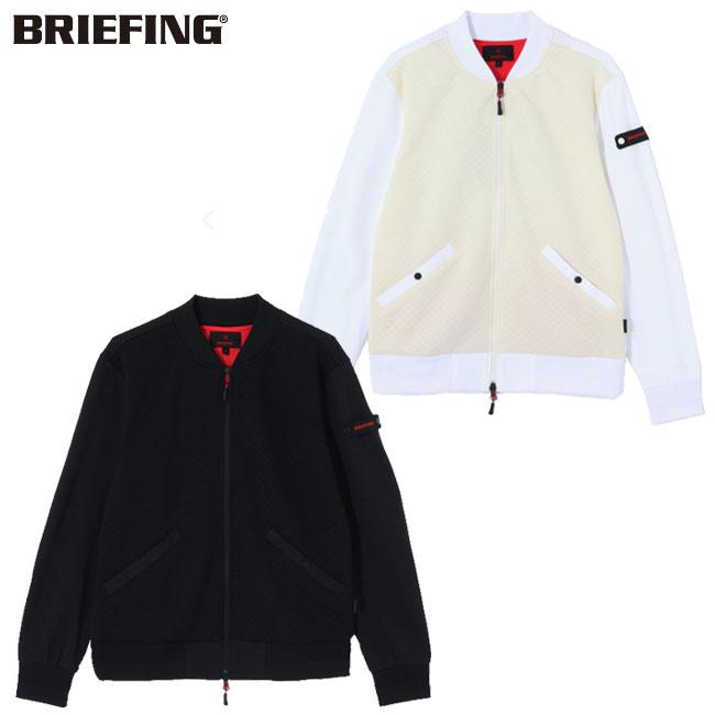 ブリーフィング BRIEFING キルテッド MA-1 ジャケット メンズ ゴルフ ウェア BG183102 2018 あす楽 【thxgd_18】