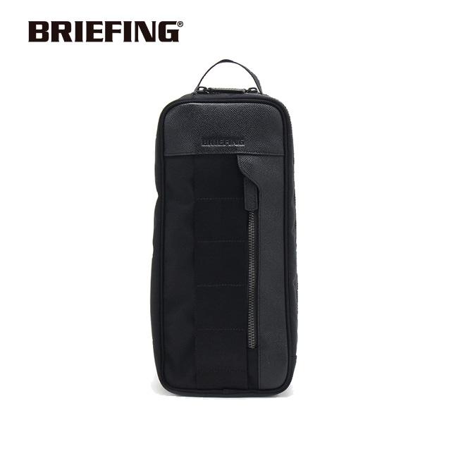 ブリーフィング BRIEFING シューズケース SHOES CASE PREMIUM シューズ入れ ブラック シンプル ゴルフ BRG191A02