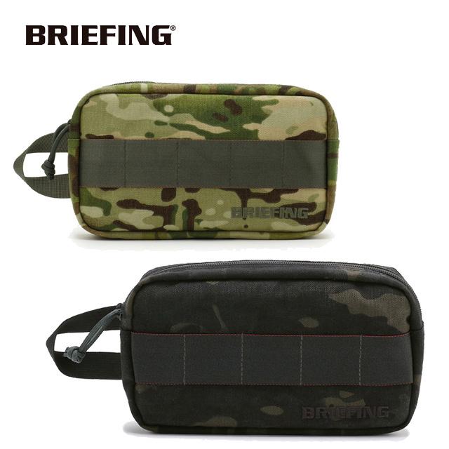 ブリーフィング BRIEFING メンズ SINGLE ZIP POUCH GOLF シングルジップ ポーチ サブバック コンパクト BRG191A11