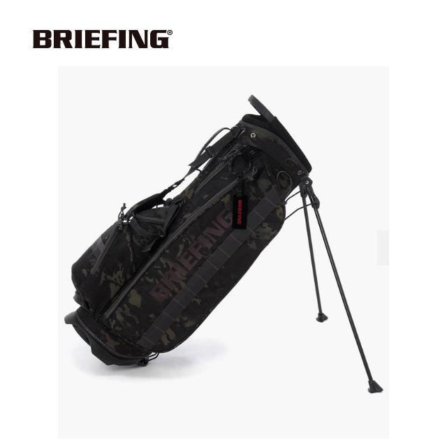 ブリーフィング BRIEFING メンズゴルフ スタンド キャディバッグ CR-4#01 BRG191D02 MULTICAM BLACK ユナイテッドコアーズ