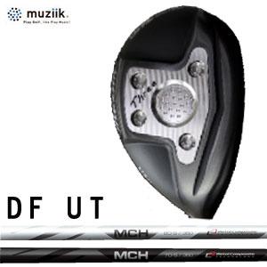 ムジーク Muziik メンズゴルフクラブ オンザスクリューディーエフ On The Screw DU Utility ユーティリティ Black ブラック MCH シャフト 【thxgd_18】