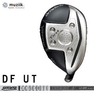 ムジーク Muziik メンズゴルフクラブ オンザスクリューディーエフ On The Screw DU Utility ユーティリティ Silver シルバー TourAD U シャフト