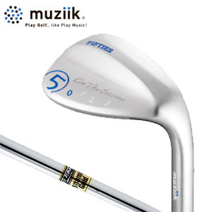 ムジーク Muziik メンズゴルフクラブ On The Screw Fifties WEDGE ウェッジ 【オンザスクリューフィフティーズ】 DG S200/NS950 【thxgd_18】