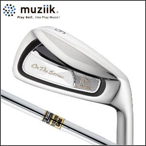 ムジーク Muziik メンズゴルフクラブ On The Screw Type D Maraging アイアン セット【オンザスクリュー】 #5~PW