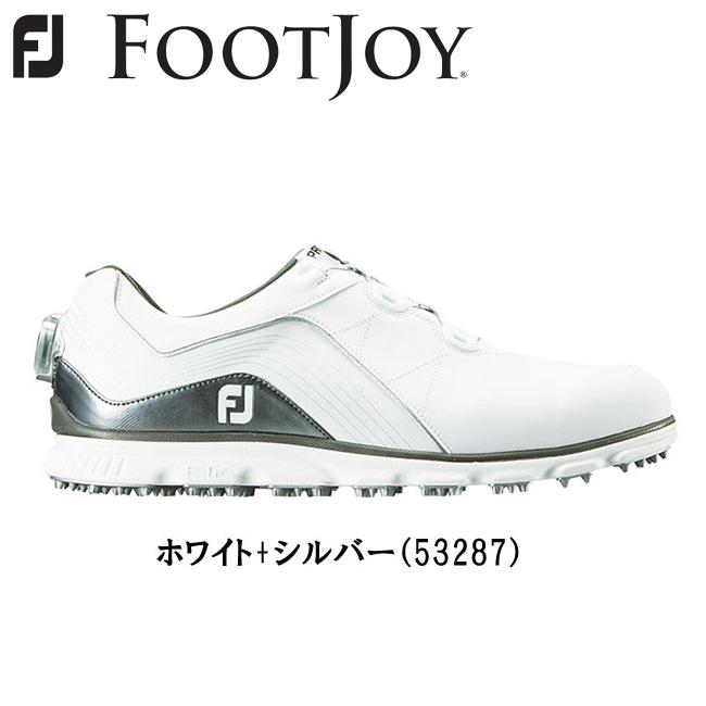 フットジョイ FOOTJOY メンズ NEW FJ Pro/SL Boa ゴルフ シューズ スパイクレスシューズ 2018モデル 53287 あす楽