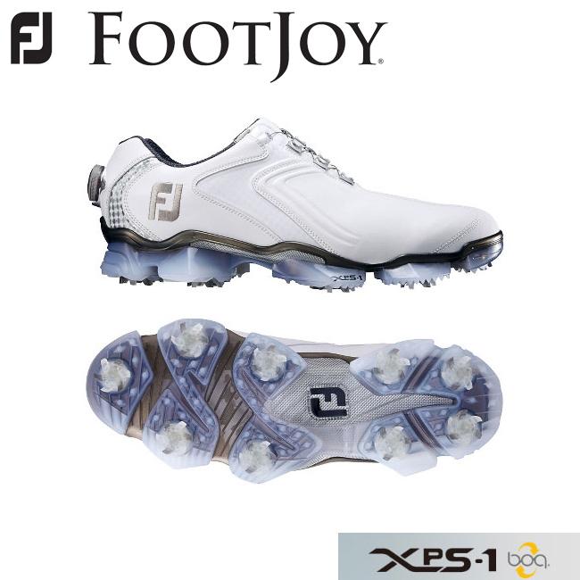 【ラッピング不可】 フットジョイ FOOTJOY FOOTJOY XPS-1 boa エックスピーエスワン 2016 ボア ゴルフシューズ ホワイト+シルバー XPS-1 56004 2016, 日昭電気:649f5024 --- canoncity.azurewebsites.net
